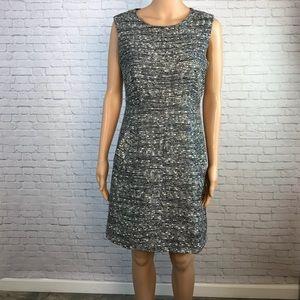 Diane Von Furstenberg gray dress size 8